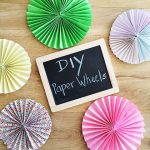 paper wheels DIY