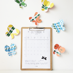 october – printable calendar