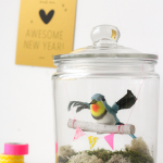 bird in a jar DIY