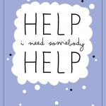 help! (weekly challenge – #14)