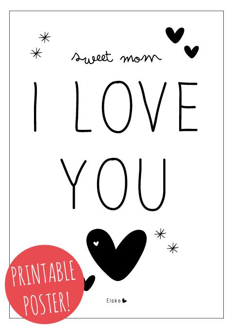 moederdag printable