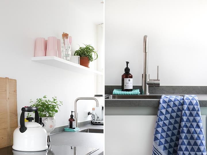 witte strakke keuken
