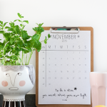 November 2015 printable kalender