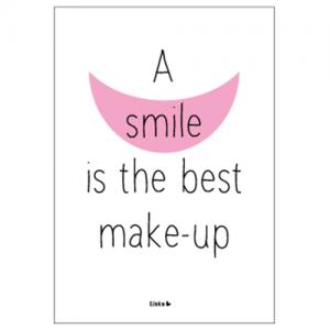 smile ansichtkaart