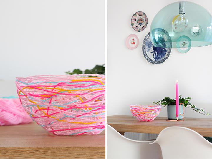 yarn bowl DIY