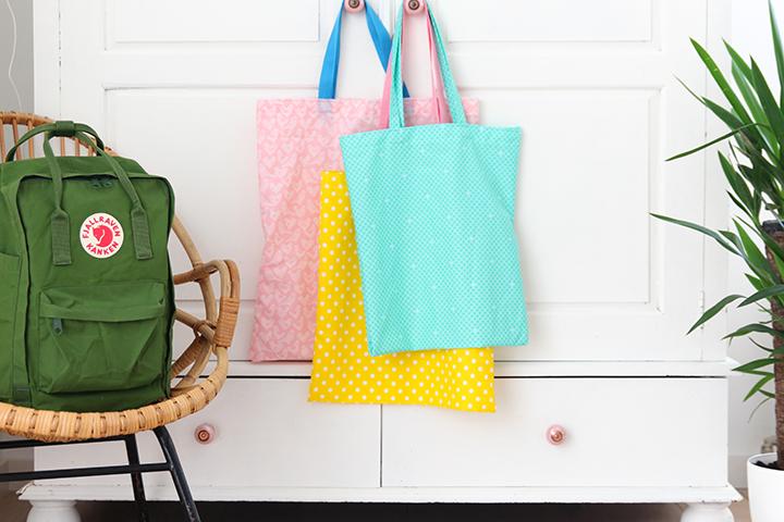 DIY simple tote bag