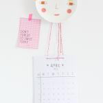 April 2016 – printable kalender