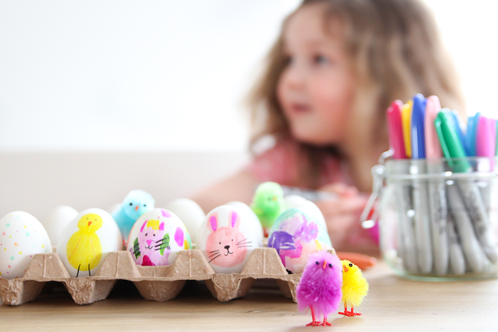 eieren kleuren