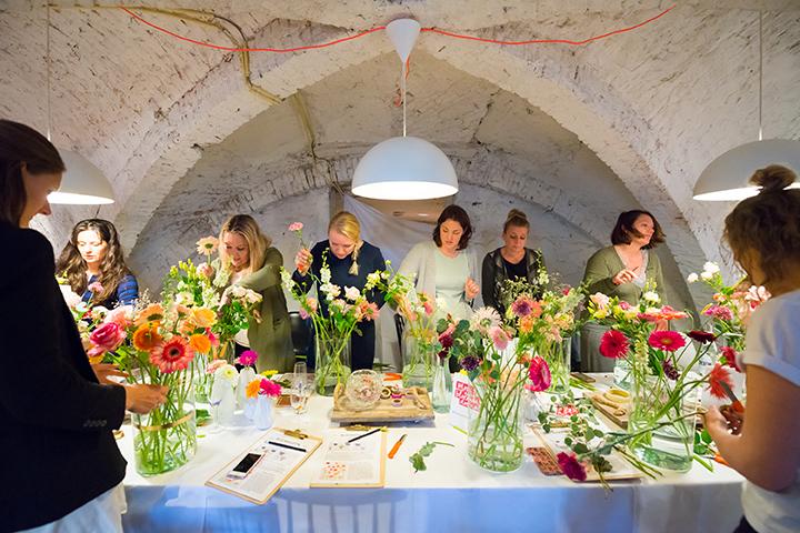 bloemenworkshop gerbera