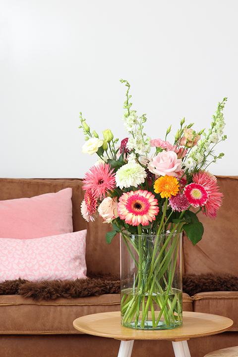 gerbera's, rozen, anjers en nog meer mooie bloemen