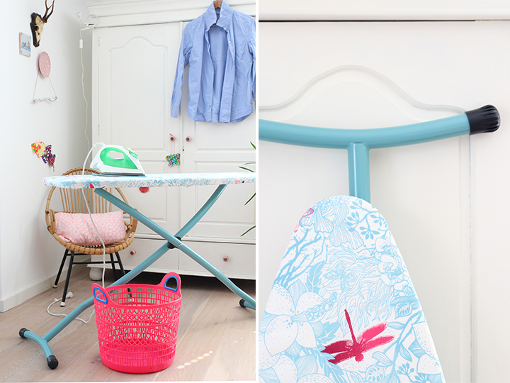 roze wasmand kitsch kitchen