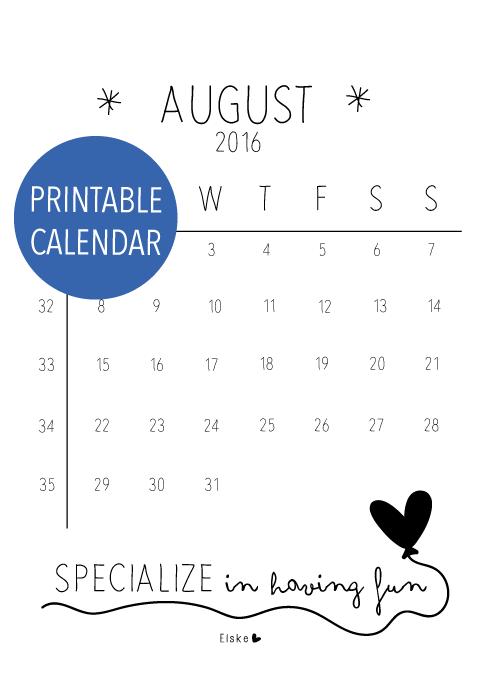 free calendar quote