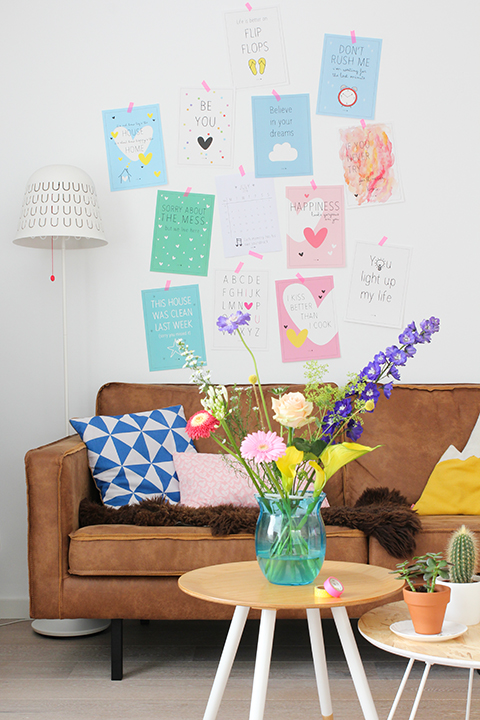 styling met posters