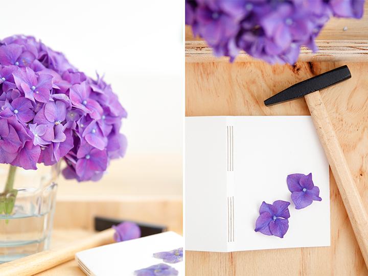 bloemen stempel