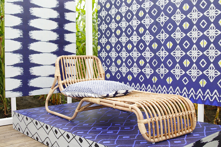 Rotan daybed