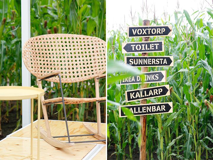 gronadal schommelstoel Ikea