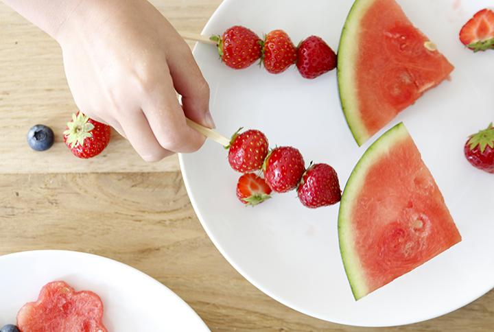 Fruit gezonde traktatie