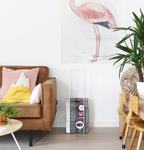 Ixxi flamingo en Mixrack Tapio Antilla