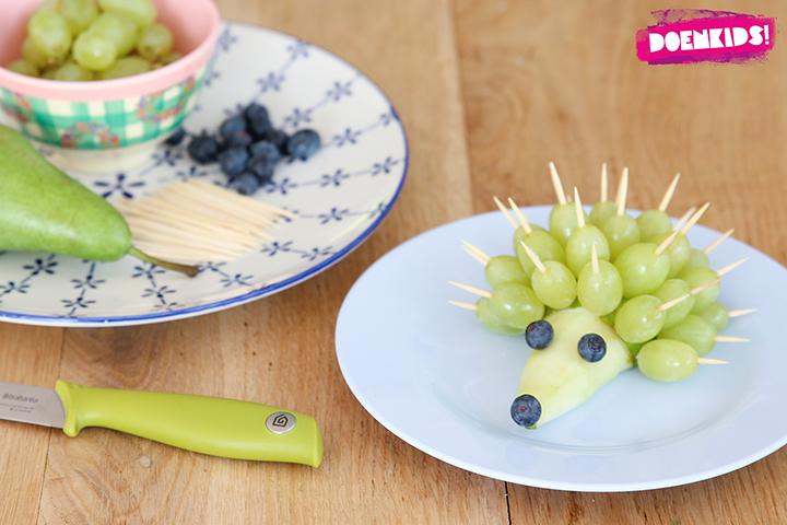 fruit als traktatie op school