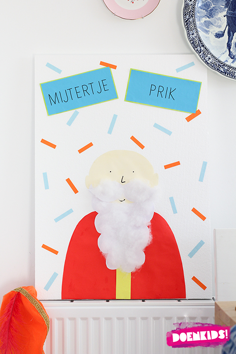 Spelletje voor Sinterklaas