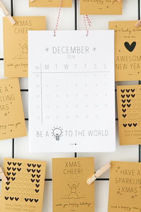 maandkalender printbaar