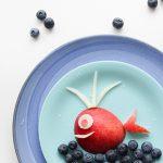 Walvis van fruit