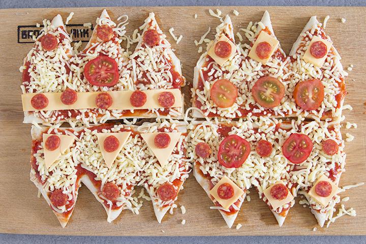 pizza kroontjes