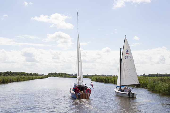 Varen in Friesland