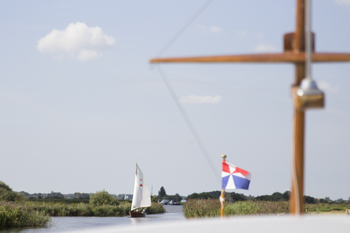 Met de boot door Friesland